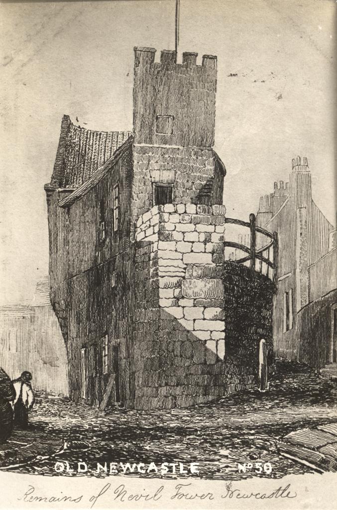 Denton or Nevil Tower, Newcastle upon Tyne