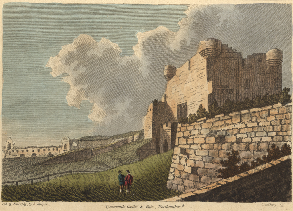 Tynemouth Castle and Gate, Northumberland
